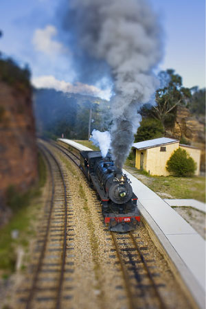 Train by AussieGall on Flickr